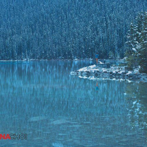 Fishing at the Cold Lake