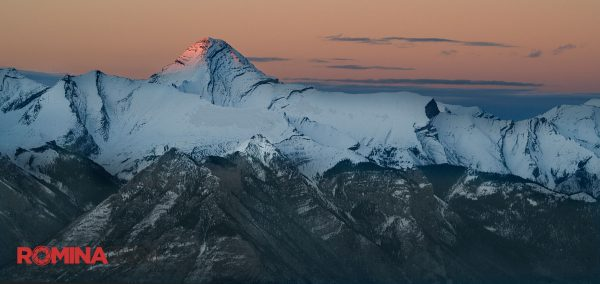 Beautiful Mountain Dawn