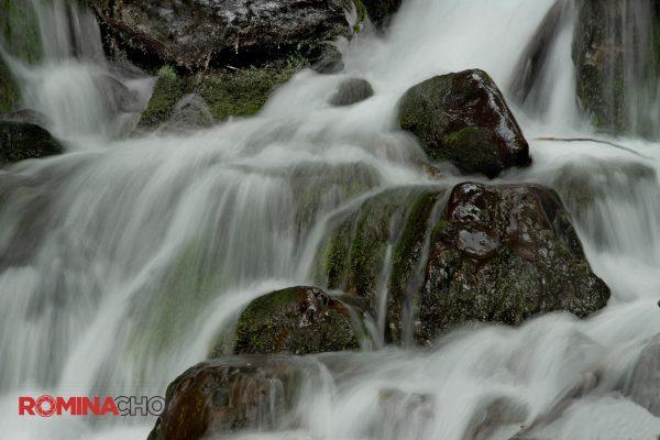 Misty Water Falls