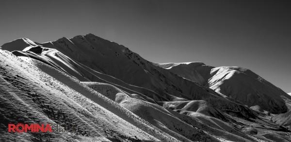 BW Snow Mountain