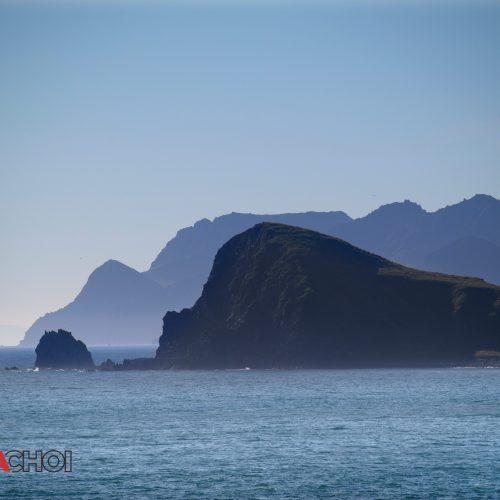 Remote Island Landscape