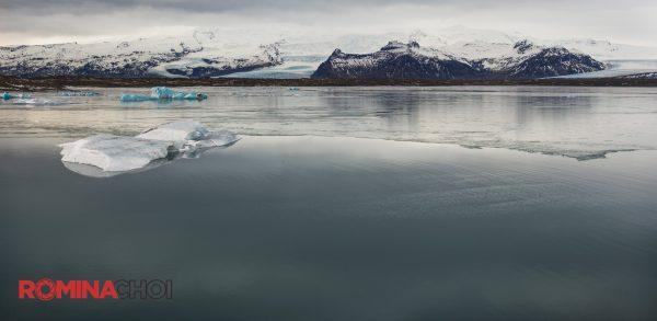 Icy Lake Landscape