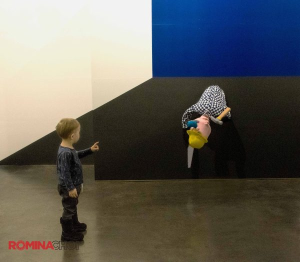 The Boy in a Museum