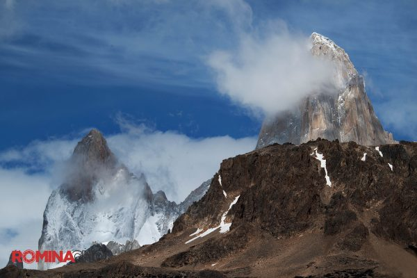 Cloudy Mountain Peak