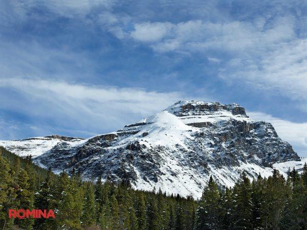 Snowy Summit Landscape